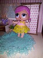 Красивое платье для кукол Лол.