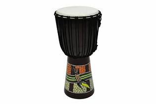 Барабан джембе этнические инструменты с африки 50см