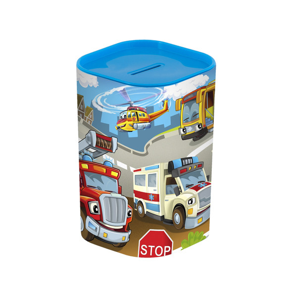 Контейнер детск. HEREVIN Money BOX Big Cars  (161495-004)