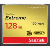 Карта памяти SANDISK CompactFlash 128 Gb Extreme (R120, W85MB/s)