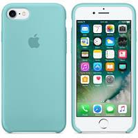 Чехол силиконовый Apple Silicone Case (бирюзовый 21) для iPhone