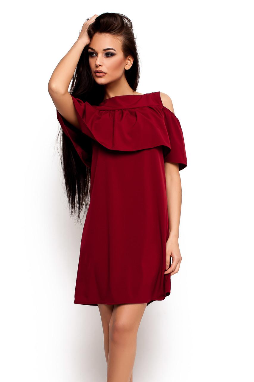 (S, M, L) Молодіжне повсякденне плаття марсала Remy