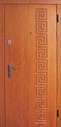 Модель 21 входные двери Саган классик 2 замка, г. Николаев