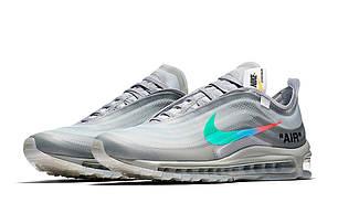 "Кроссовки Nike Air Max 97 Menta Off-White""Серые"", фото 2"