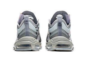 "Кроссовки Nike Air Max 97 Menta Off-White""Серые"", фото 3"