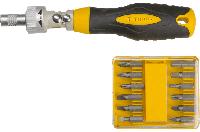 Набор сменных головок и насадок с держателем TOPEX 39D525