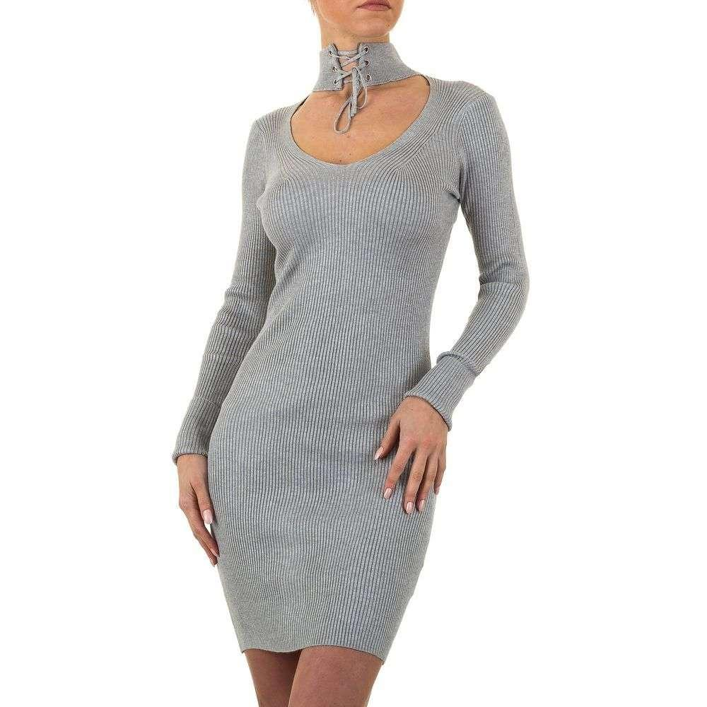 Женское платье от Emma&Ashley, размер one size - серый - KL-8885-серый