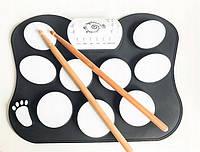 Настольные электронные барабаны Drum Kit силиконовые