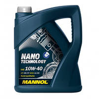 Моторне масло Mannol Nano Technology SAE 10W-40 A3/B4 5 л