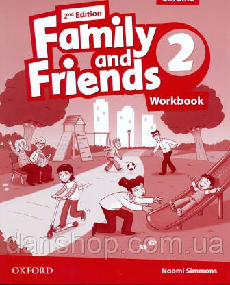 Family and Friends 2 Second Edition Workbook