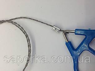 Аварийная пила,пила-струна НАЗ (двойное крепление), фото 3