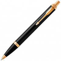 Подарочная ручка Parker черная с позолотой