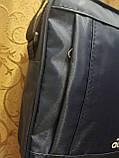 (24*19-большое)Спортивные барсетка adidas Водонепроницаемая сумка для через плечо только оптом, фото 5