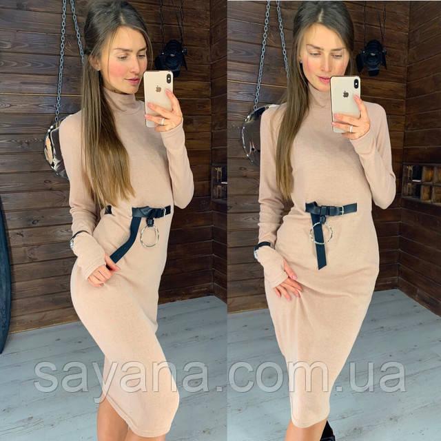 силуэтное платье женское