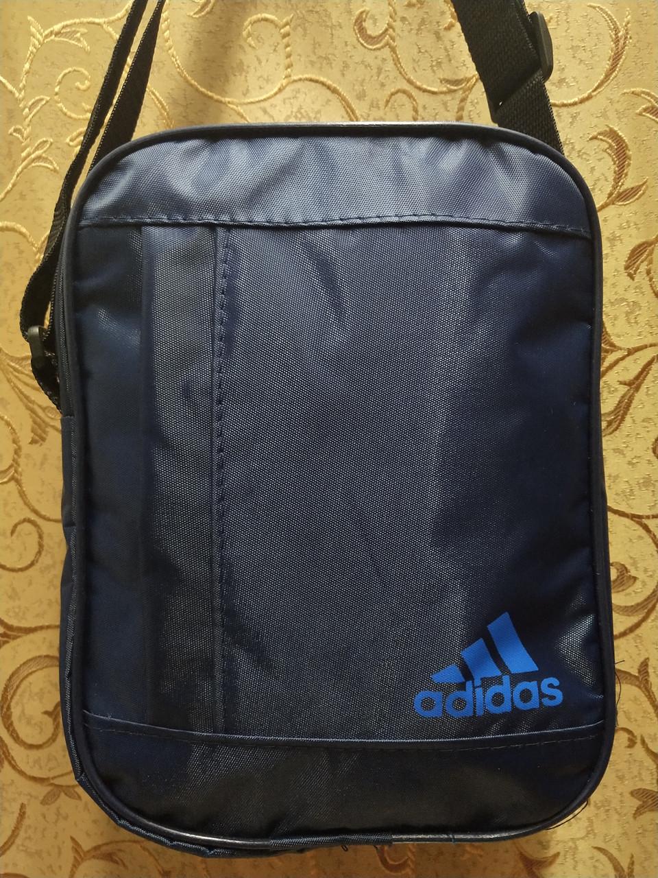 (24*19-большое)Спортивные барсетка adidas Водонепроницаемая сумка для через плечо только оптом