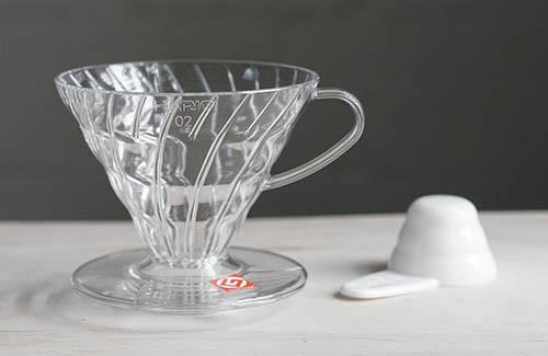 купить пуровер харио прозрачный пластик для заваривания кофе полипропилен пластик на 4 чашки