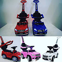 Детская каталка-толокар Мерседес Mercedes AMG, SX1578, свет, звук MP3, USB. Разные цвета. На батарейках.