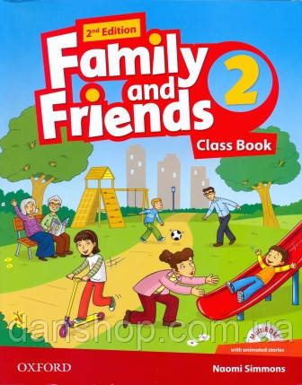 Family and Friends 2 Second Edition Class Book