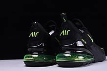 """Кроссовки Nike Air Max 270 """"Черные/Зеленые"""", фото 2"""