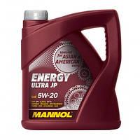 Моторне масло Mannol Energy Ultra JP SAE 5W-20 C3 4 л