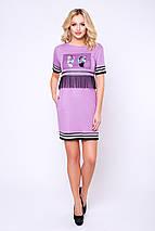 Женское платье с аппликацией (Стоун lzn), фото 2