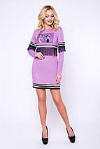 Женское платье с аппликацией (Стоун lzn), фото 3