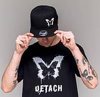 Набор мужская футболка и кепка Detach