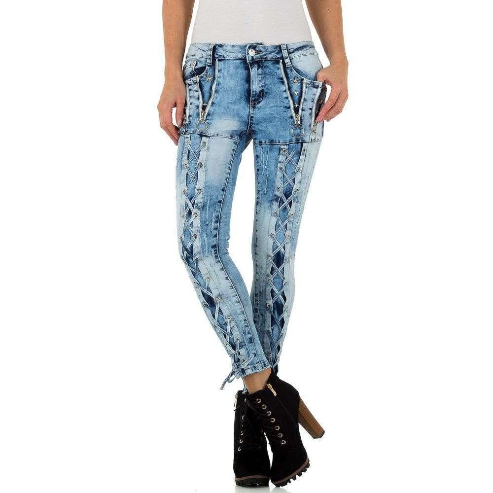 Женские джинсы Original Denim - blue - KL-J-E1968-синий