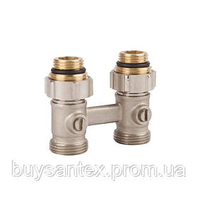SD FORTE Кран для стальн. рад. прямой шаровой  3/4 х 1/2    SF251W15