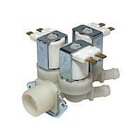 Клапан залива воды 3Х180 для стиральных машин универсальный