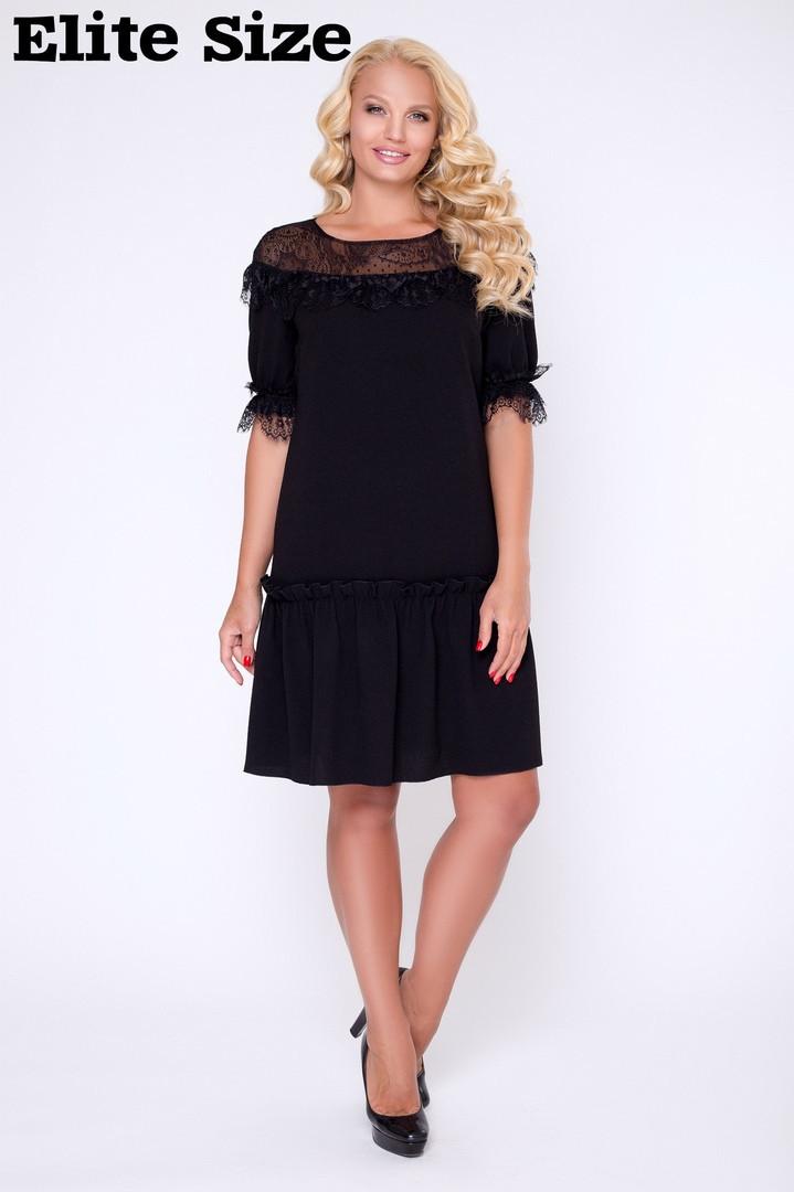 Милое женское платье размеры: 50, 52, 54, 56