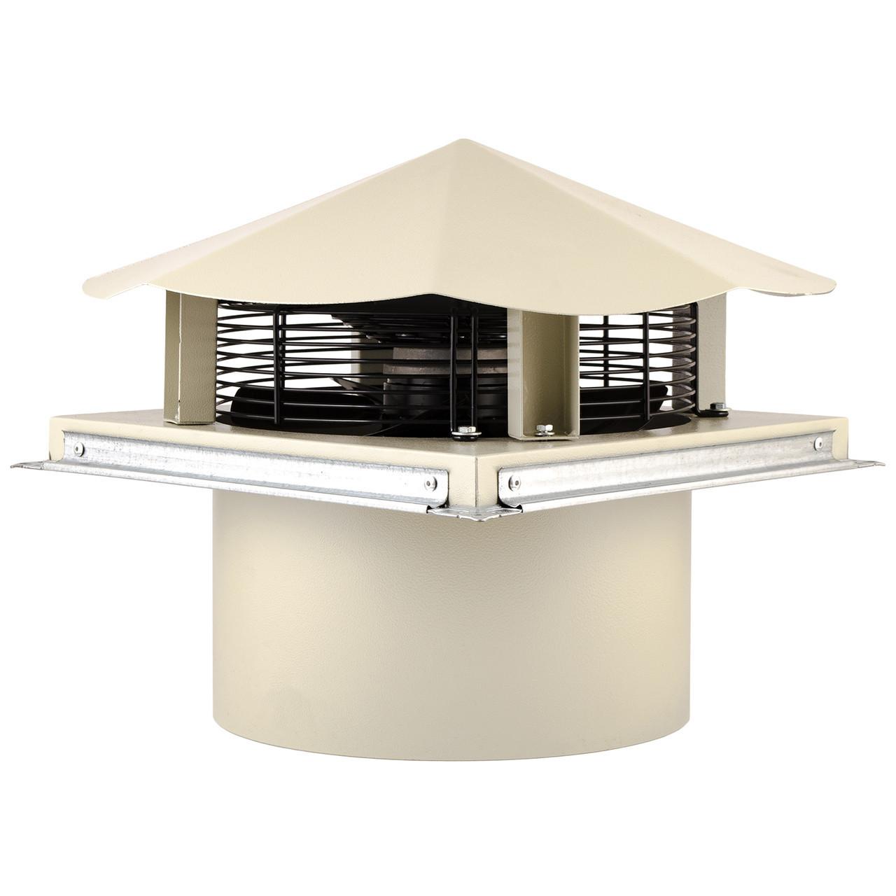 Осьовий даховий вентилятор Турбовент КВО 350