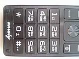 Мобильный телефон Unruly U515 coffe 2 сим, фото 3