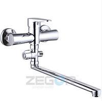 Змішувач для ванни ZEGOR PUD6-A146