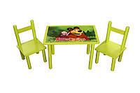Столик с двумя стульчиками Маша и Медведь