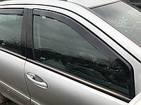 Скло двері переднє праве Mercedes c-class w203