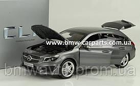 Модель Mercedes-Benz CLA, Shooting Brake (X117), Mountain Grey Metallic, 1:18 Scale