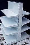 Торговий металевий стелаж 1450х950 односторонній, фото 2
