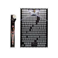 🔝 Скретч постер, My Poster Cinema Edition 21 century, стираемый постер, ENG | 🎁%🚚