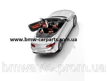 Модель Mercedes-Benz C-Class Cabriolet, Iridium Silver, Scale 1:18, фото 3