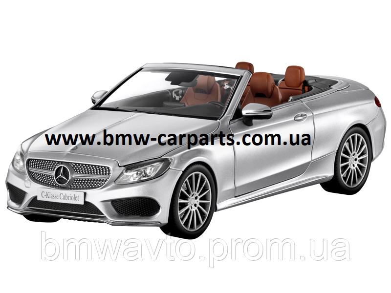 Модель Mercedes-Benz C-Class Cabriolet, Iridium Silver, Scale 1:18