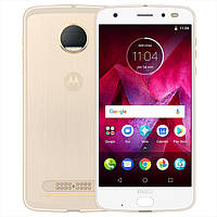 "Motorola Moto Z2 Force XT1789-05 4/64 golden (золотой) Snapdragon 835, 5.5"" OLED 2K, Android 8.0, NFC"