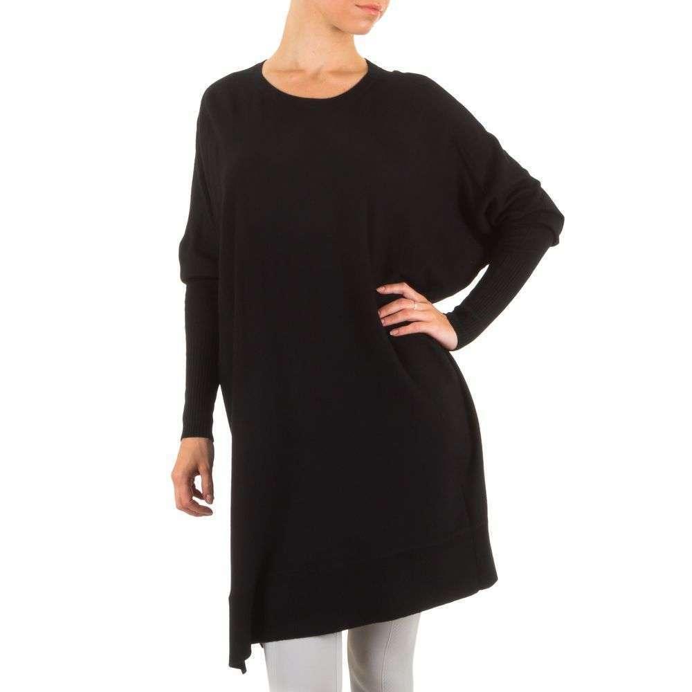 Женская туника, размер one size - black - KL-C440-black