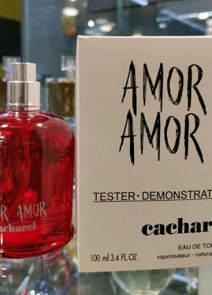 Тестер Cacharel Amor Amor женская туалетная вода 100 мл