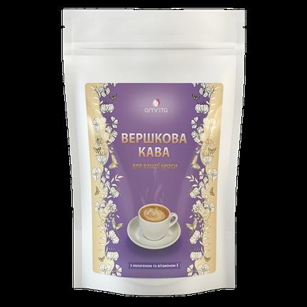 Вершковий кави з колагеном і вітаміном Е Амріта, 180 г, фото 2