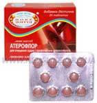 «Атерофлор» - очищение сосудов, повышения эластичности сосудистой стенки, профилактики атеросклероза сосудов.
