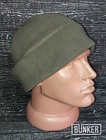 Флисовая шапка/пошлемник в расцветке олива грей, фото 1