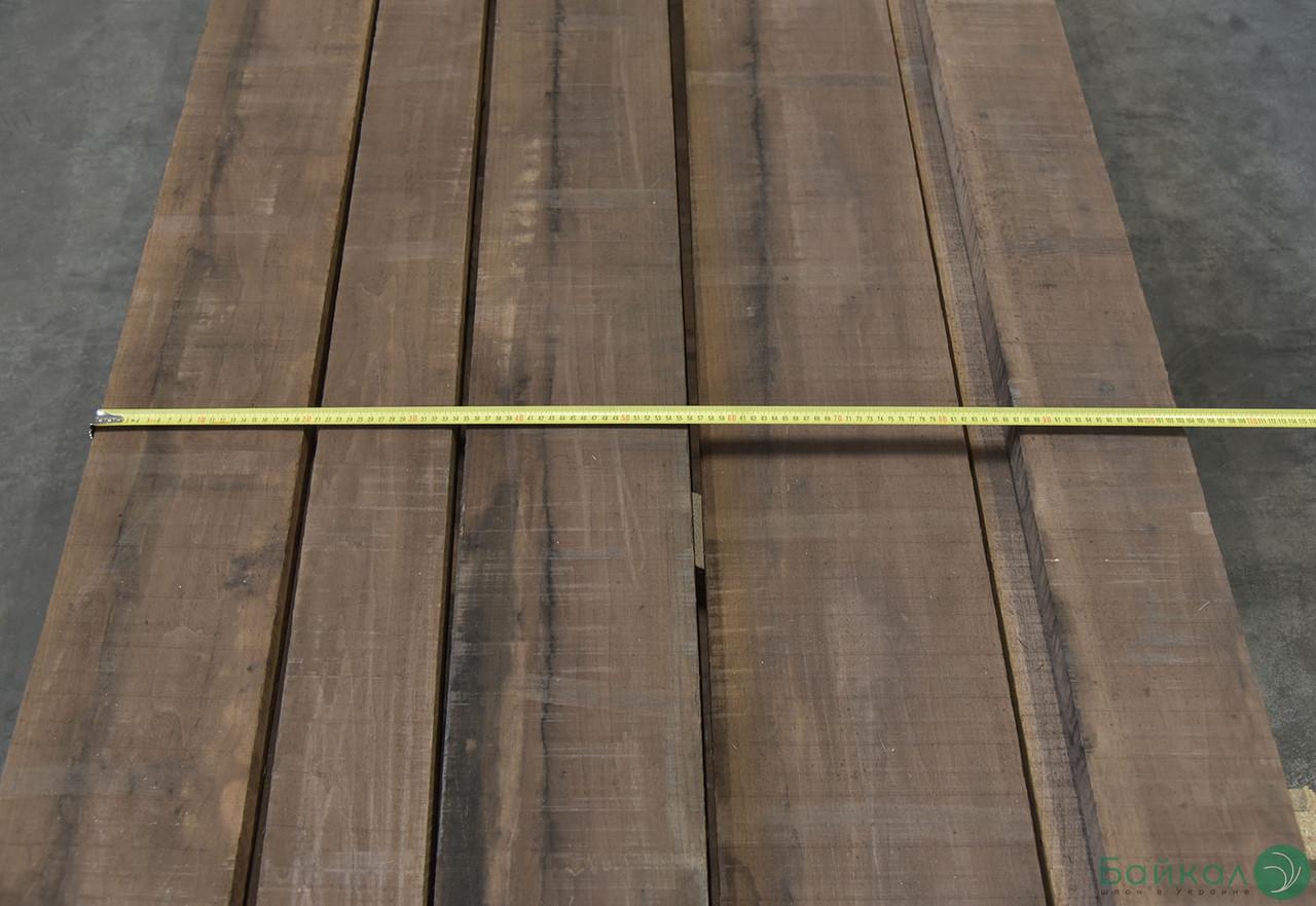 Доска обрезная Американский Орех 38 мм (1сорт) от 2,15 м+/от 12 см+