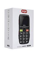 Мобильный телефон ERGO F184 Respect Dual Sim (черный), фото 1