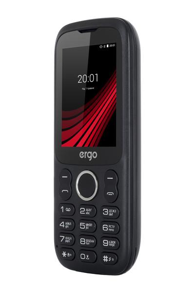 Мобильный телефон ERGO F242 Turbo Dual Sim (черный)